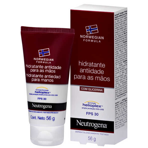 Neutrogena Norwegian Formula Anti-idade FPS 30 - Creme para as Mãos 56g