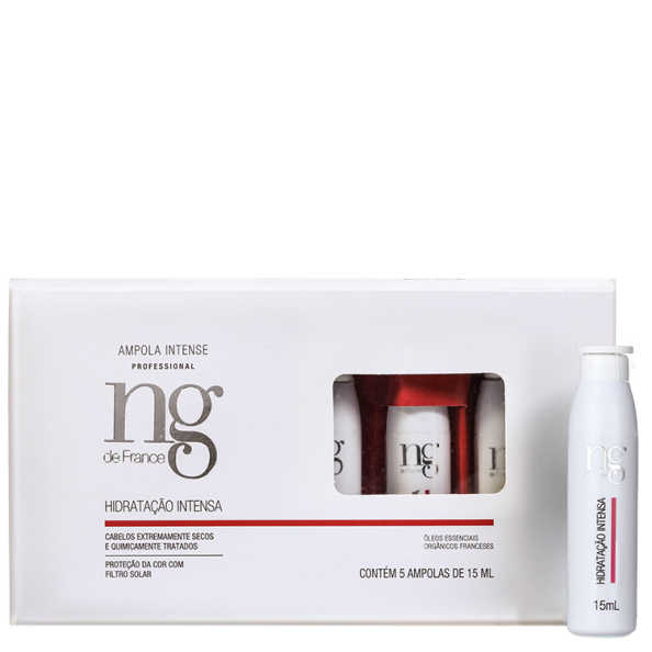 NG de France Intense Hidratação Intensa - Ampola 5x 15ml