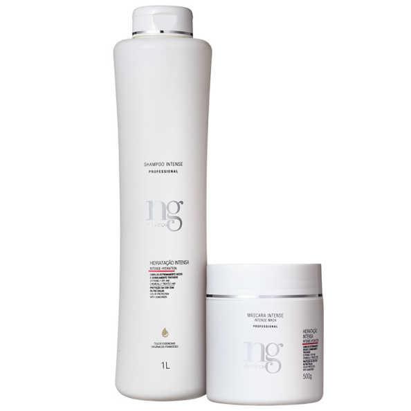 NG de France Intense Hidratação Poderosa Duo Kit (2 Produtos)