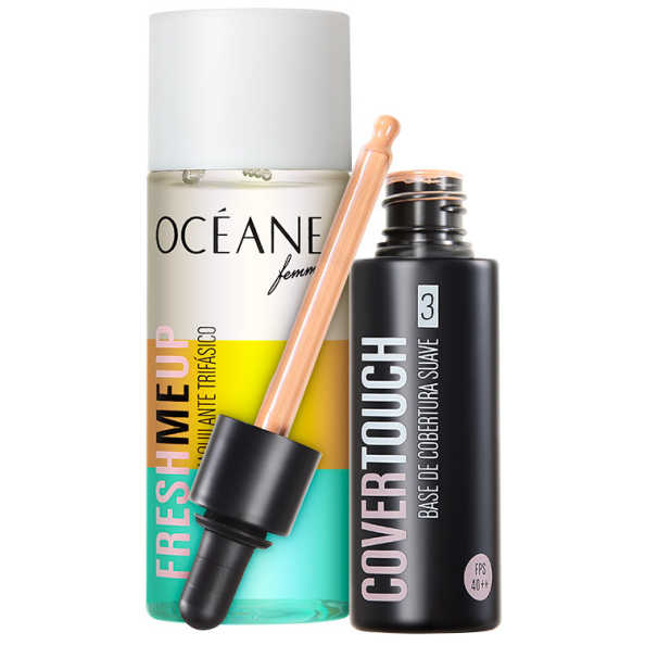 Océane Femme Cover Touch 3 Fresh Me Up Kit (2 Produtos)