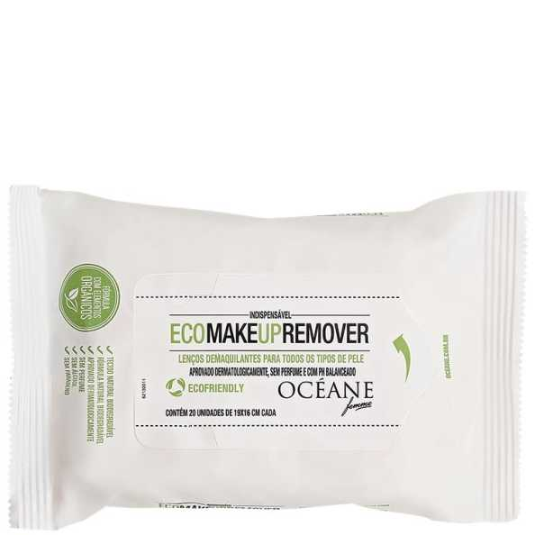 Océane Femme Eco Make Up Remover - Lenço Demaquilante (20unidades)