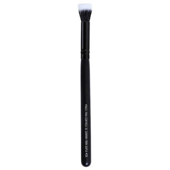 Océane Femme Flat Eyeshadow Brush - Pincel Duo Fiber para Sombra
