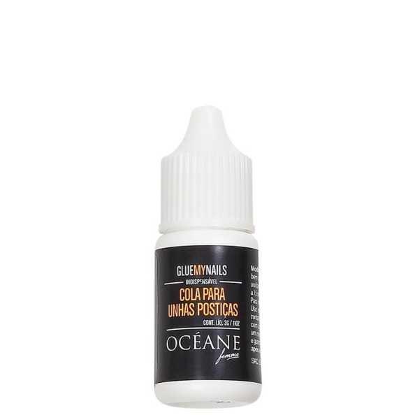 Océane Femme Glue My Nails - Cola para Unhas Postiças 3g
