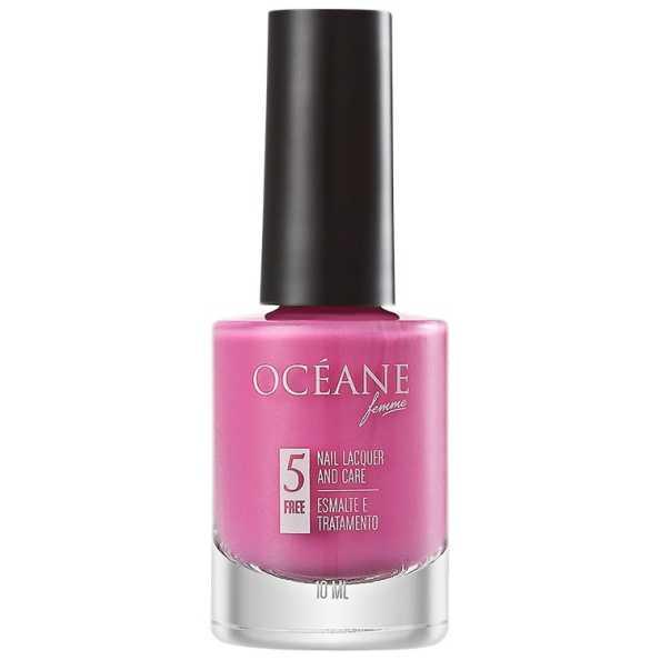 Océane Femme Nail Lacquer And Care Flamingo - Esmalte 10ml