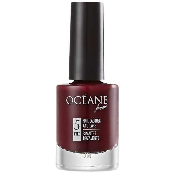 Océane Femme Nail Lacquer And Care Merlot - Esmalte 10ml