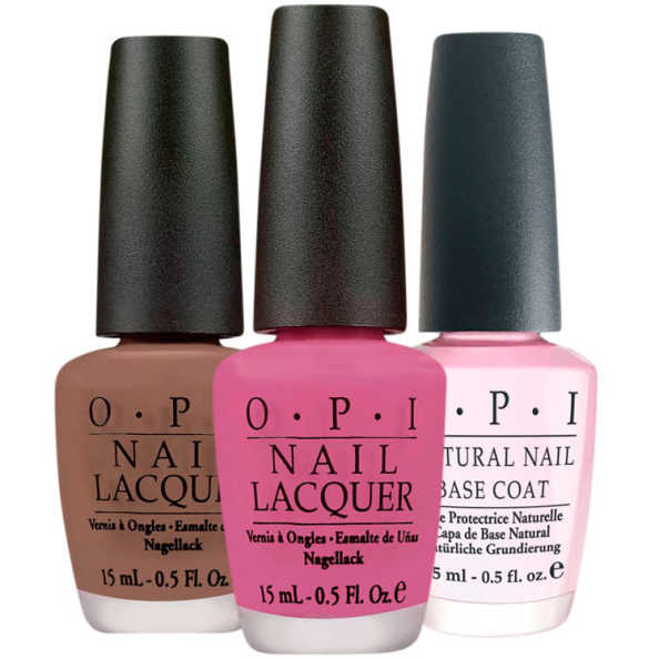 OPI Base Over Cowboys Kit (3 Produtos)