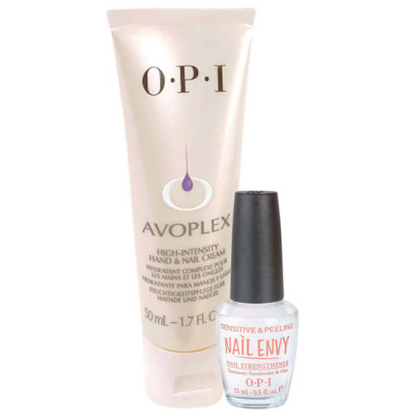 OPI Creme Intensivo Avoplex + Sensitive e Peeling Kit (2 Produtos)