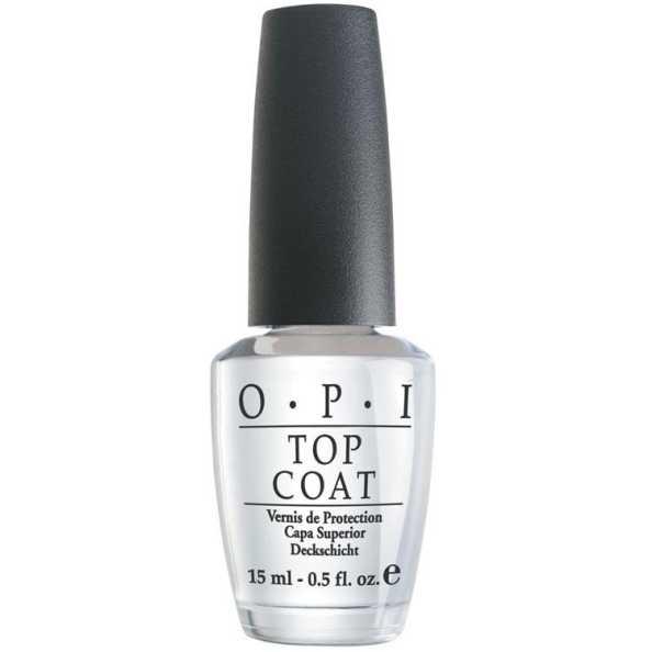 OPI Top Coat - Base de Brilho e Proteção 15ml