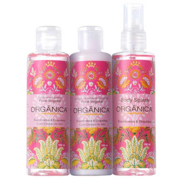 Kit Orgânica Tri Set Framboesa e Orquídea (3 produtos)