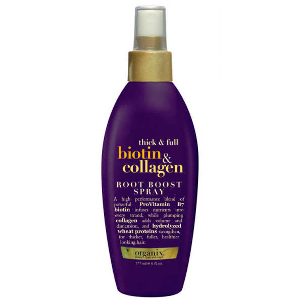Organix Biotin & Collagen Root Boost Spray - Spray de Volume 177ml