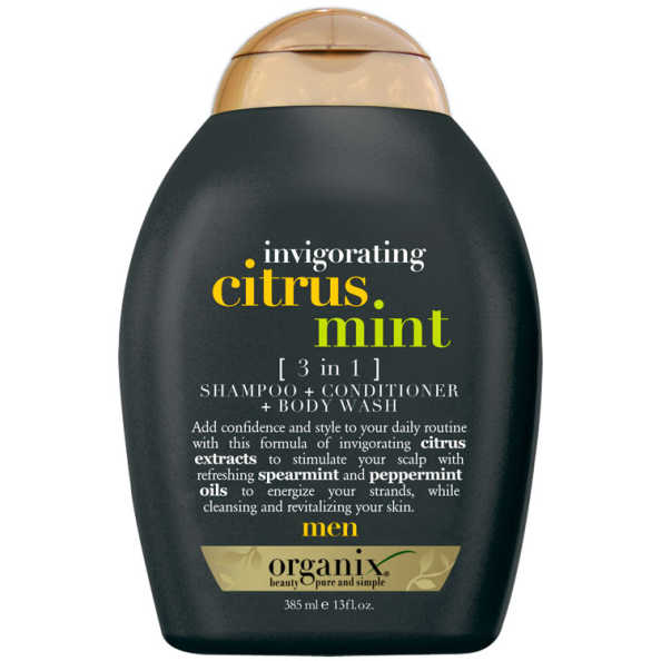 Organix Citrus Mint 3 In 1 - Shampoo 3Em1 385ml