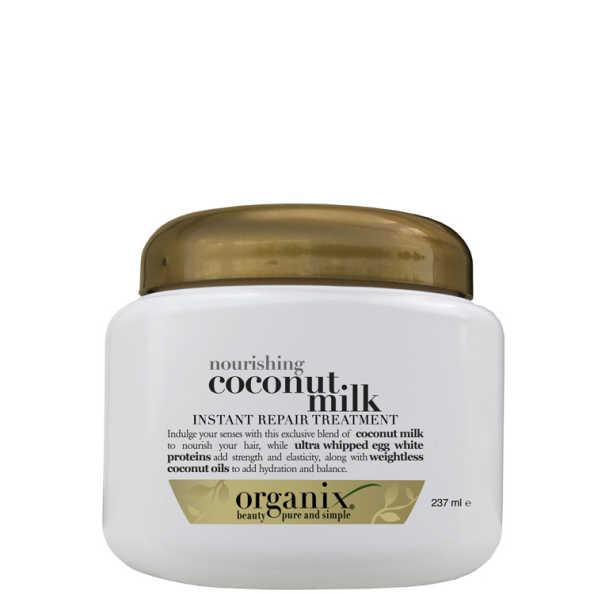 Organix Coconut Milk Instant Repair Treatment - Máscara 237ml