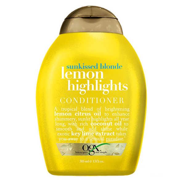 Organix Lemon Highlights Conditioner - Condicionador 385ml