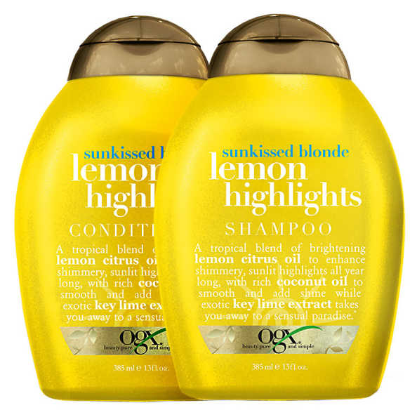 Organix Lemon Highlights Duo Kit (2 Produtos)