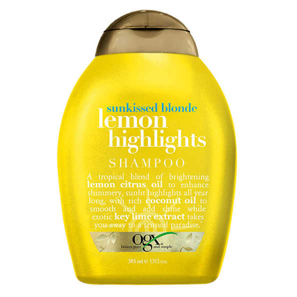 Organix Lemon Highlights - Shampoo 385ml