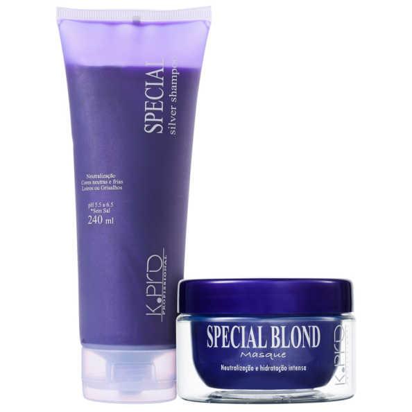 K.Pro Special Silver Blond Treatment Kit (2 Produtos)