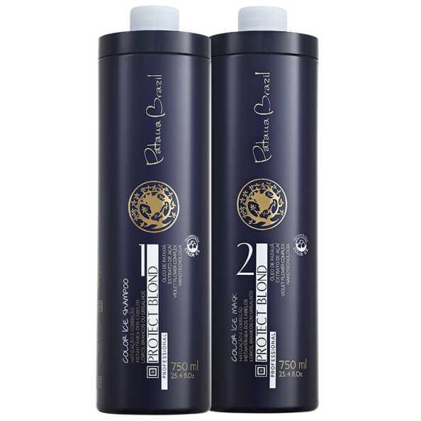 Pataua Brazil Protect Blond Color Ice Profissional Duo Kit (2 Produtos)