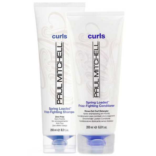 Paul Mitchell Curls Spring Loaded Frizz-Fighting Duo Kit (2 Produtos)