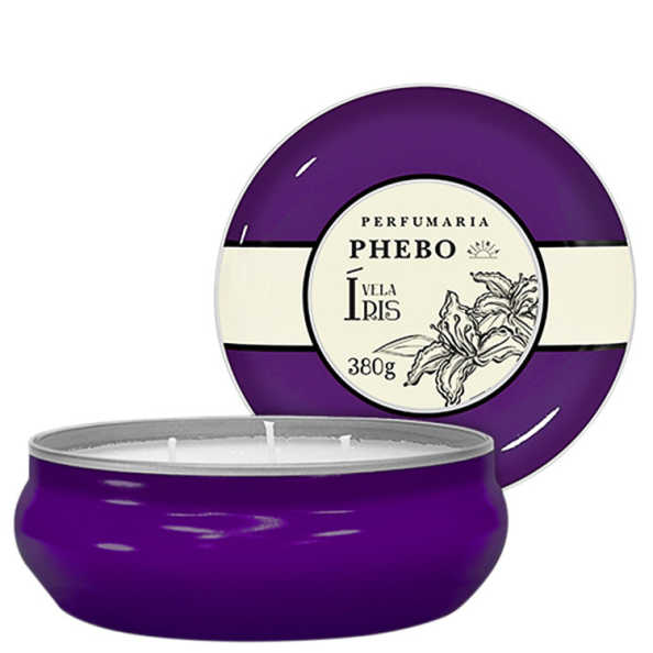 Águas de Phebo Íris - Vela Perfumada 380g