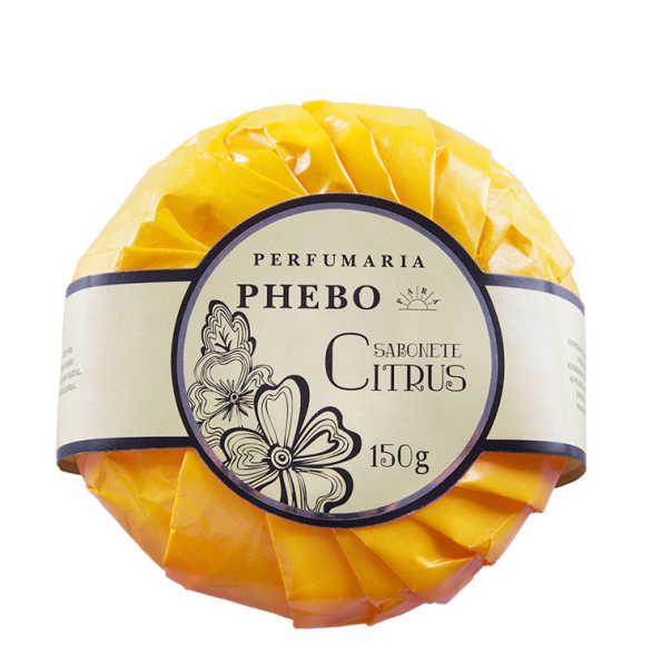 Perfumaria Phebo Citrus - Sabonete em Barra 150g