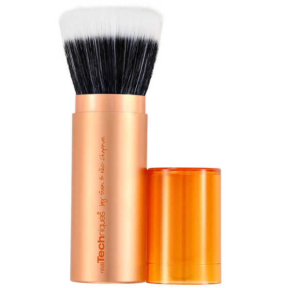 Real Techniques Retractable Bronzer Brush – Pincel Retrátil para Bronzer