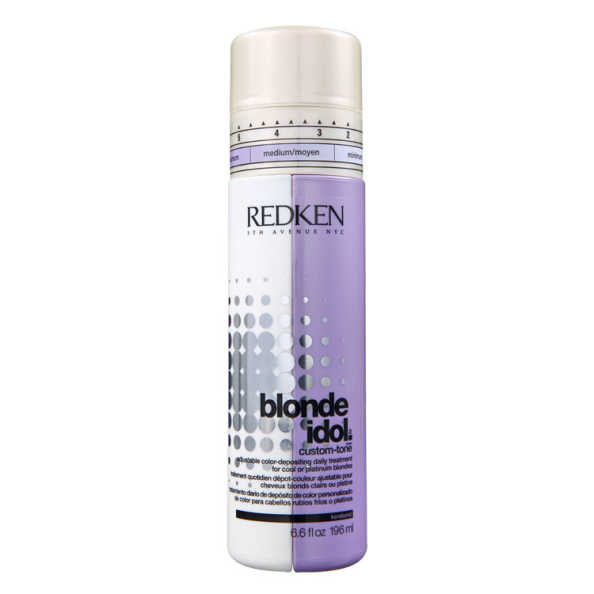 Redken Blonde Idol Custom-Tone Violet Conditioner - Condicionador Desamarelador 196ml