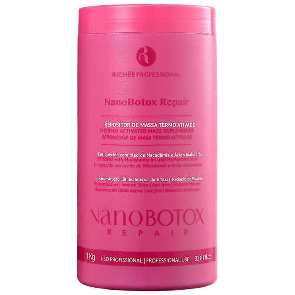 Richée Professional Nano Botox Repair – Repositor de Massa 1000g