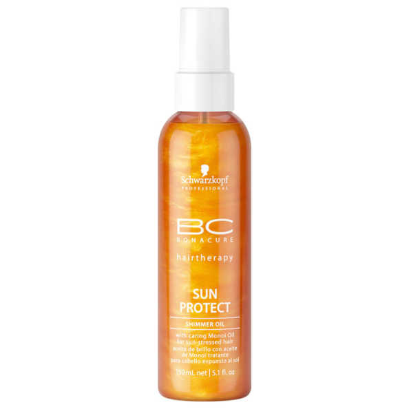 Schwarzkopf Professional BC Bonacure Sun Protect Shimmer Oil -Spray de Brilho 150ml