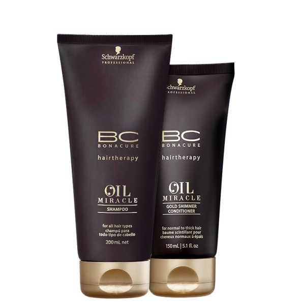 Schwarzkopf Professional BC Bonacure Oil Miracle - Daily Kit (2 Produtos)