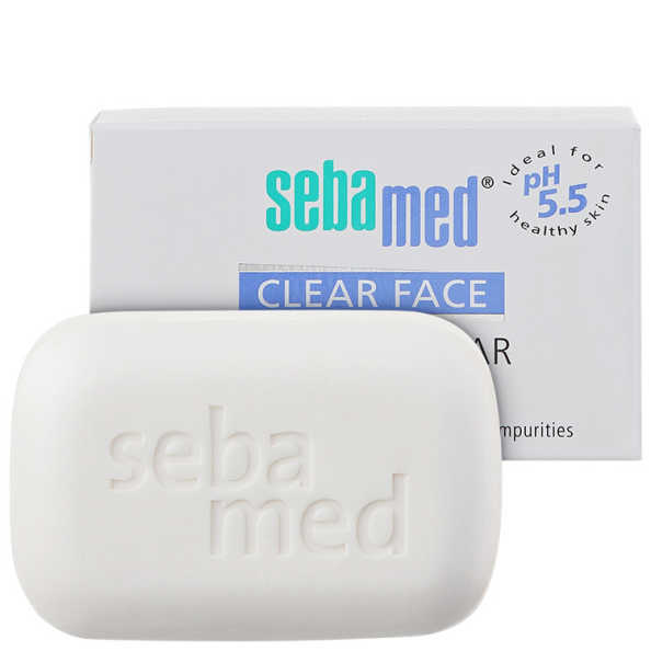 Sebamed Face Cleansing Bar - Sabonete Facial em Barra 100g