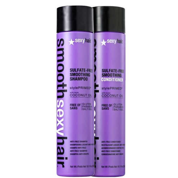 Sexy Hair Smooth Liso Sem Frizz Kit (2 Produtos)