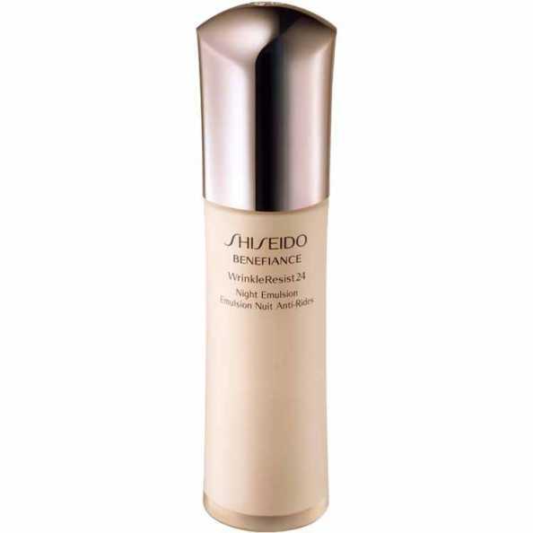 Shiseido Benefiance Wrinkle Resist 24 Night Emulsion - Emulsão Noturna Antienvelhecimento 75ml
