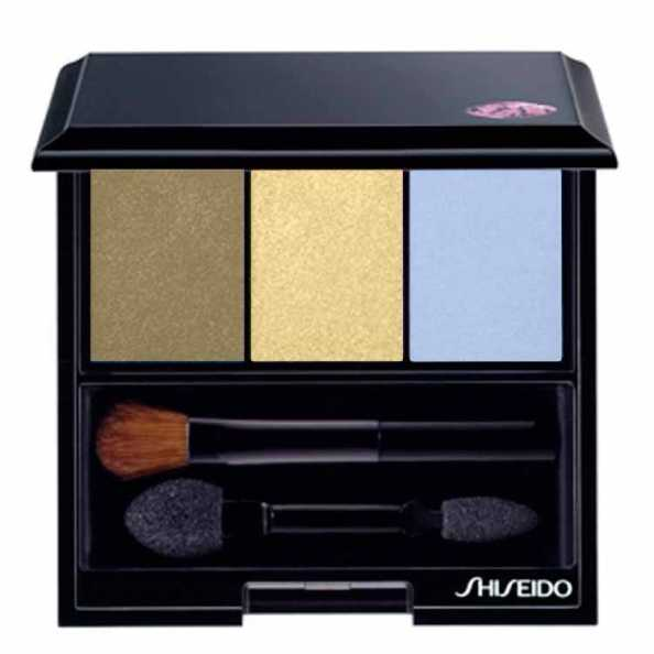 Shiseido Luminizing Satin Eye Color Trio Gd804 - Green/Yellow/Blue