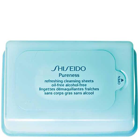 Shiseido Pureness Refreshing Cleansing Sheets - Lenço de Limpeza (30 unidades)
