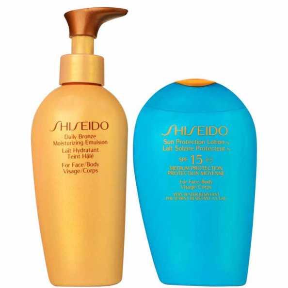 Kit Shiseido Sun Care Bronze (2 produtos)