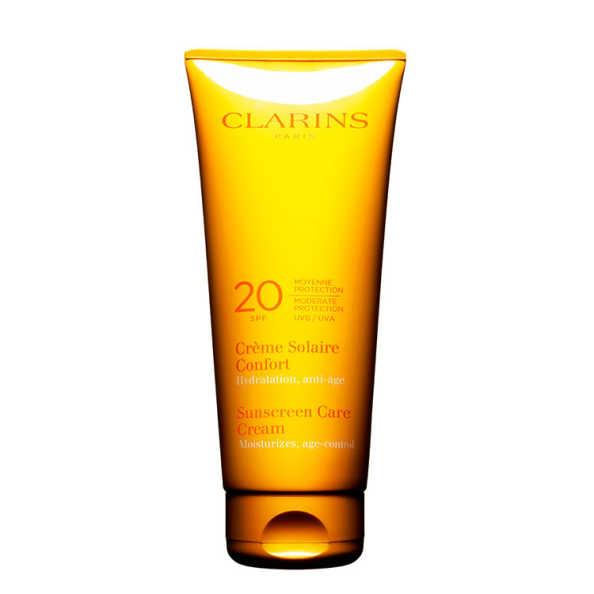 Clarins Sunscreen Care Cream FPS 20 - Protetor Solar em Creme 200ml