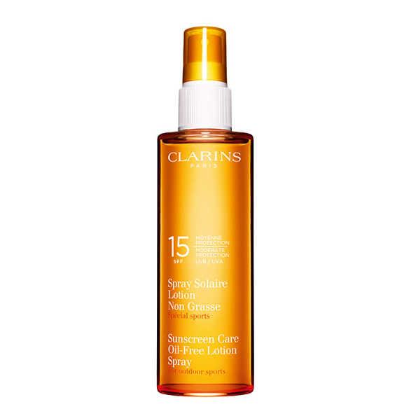 Clarins Sunscreen Care Oil-Free Lotion Spray FPS 15 - Protetor Solar em Loção 150ml