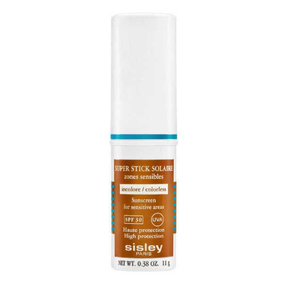 Sisley Super Stick Solaire Incolore Áreas Sensíveis FPS 30 - Protetor Solar Facial 11g