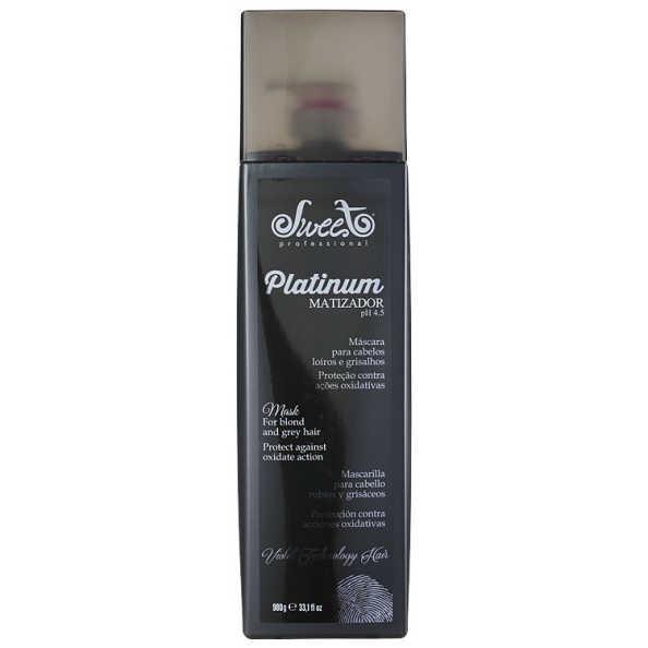 Sweet Hair Merci Platinum - Máscara Matizadora 980g