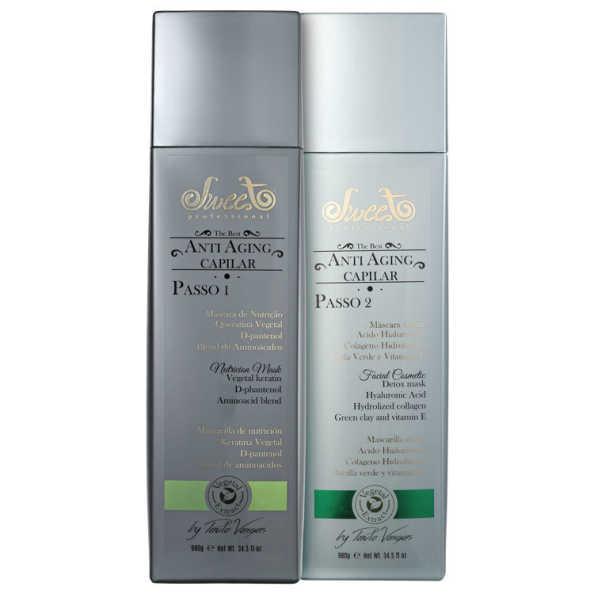 Sweet Hair Special Edition Anti Aging Capilar Kit (2 Produtos)