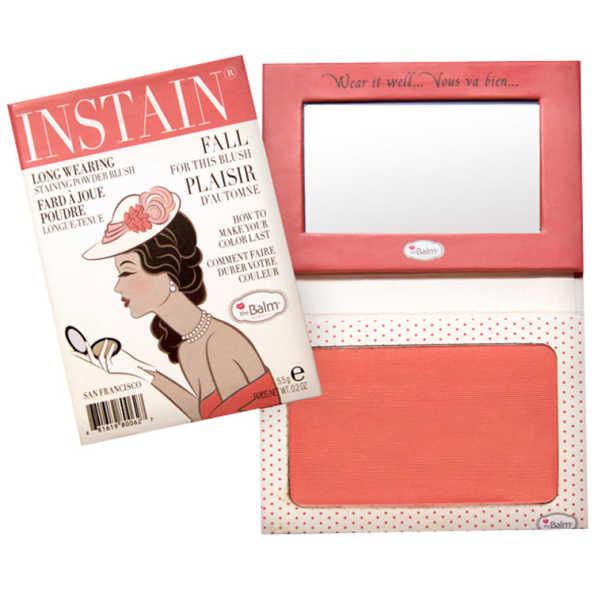 the Balm Instain Swiss Dot Peach - Blush Luminoso 5,5g