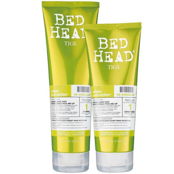 TIGI Bed Head Urban Anti+Dotes #1 Re-Energize Duo Kit (2 Produtos)