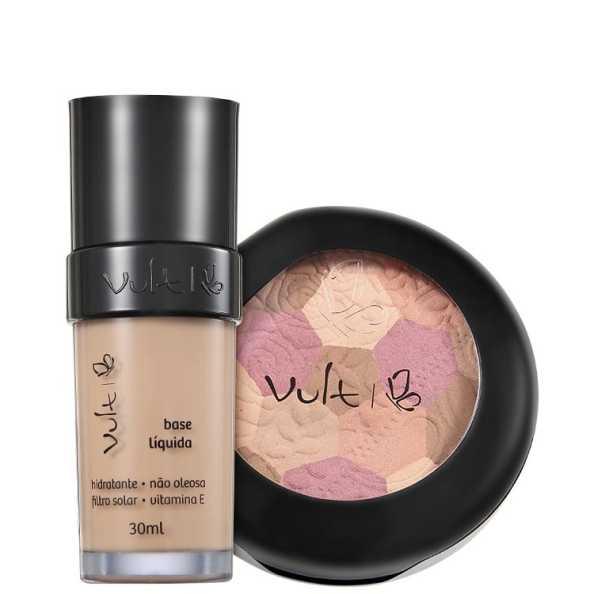 Vult Make Up 01 Bege Mosaico Kit (2 Produtos)