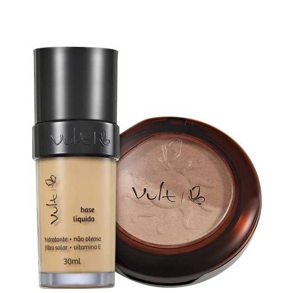 Vult Make Up 03 Bege Duo Soleil Kit (2 Produtos)