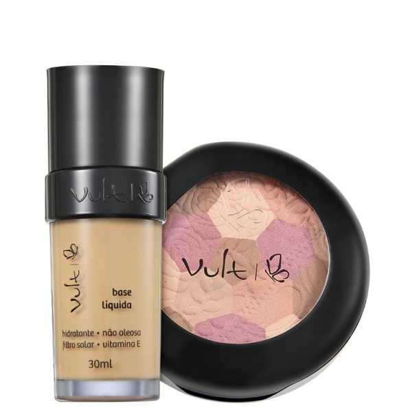 Vult Make Up 03 Bege Mosaico Kit (2 Produtos)