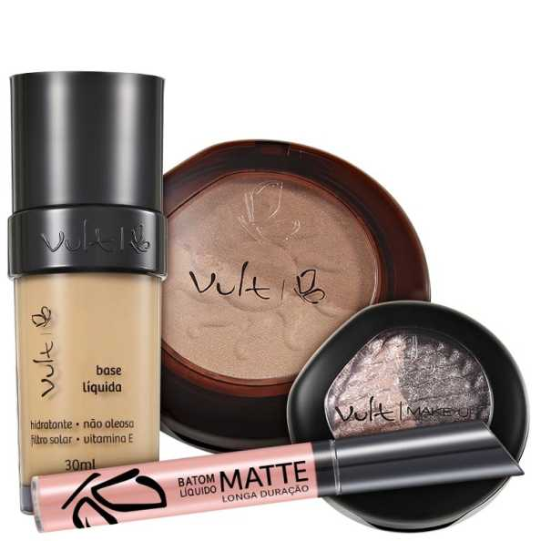 Vult Make Up Baked Soleil 02 Kit (4 Produtos)
