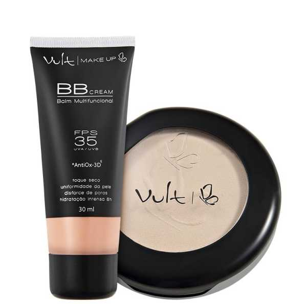 Vult Make Up Balm Bege Translúcido Kit (2 Produtos)