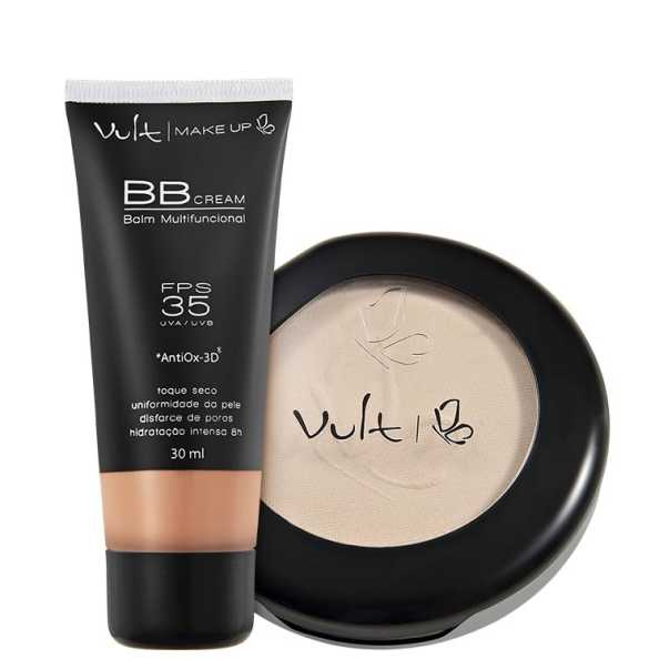 Vult Make Up Balm Marrom Translúcido Kit (2 Produtos)