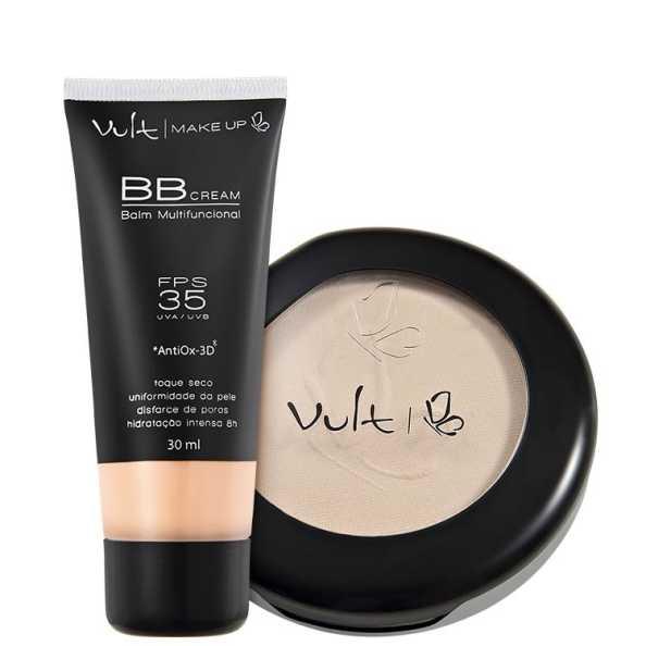Vult Make Up Balm Rosa Translúcido Kit (2 Produtos)