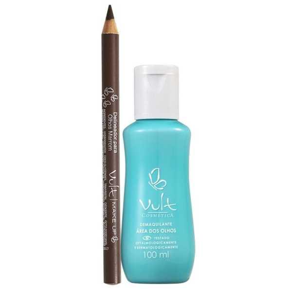 Vult Make Up Brown Eyes Kit (2 Produtos)